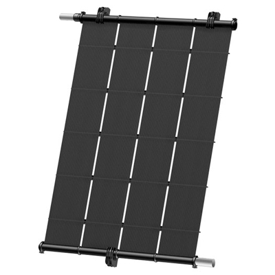 Heliocol solar heating system for pool water