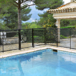 Beethoven rigid pool fencing system