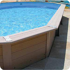 Composite wood swimming pool DAVAO