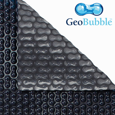 Solar blanket for swimming pool Energy guard geobubble