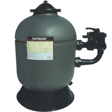 Hayward Side sand filter with 6-way valve