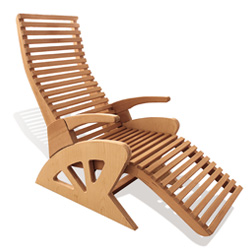 Alto Confort wooden sauna relaxation chair