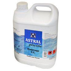 Astral winterizing product 5l container