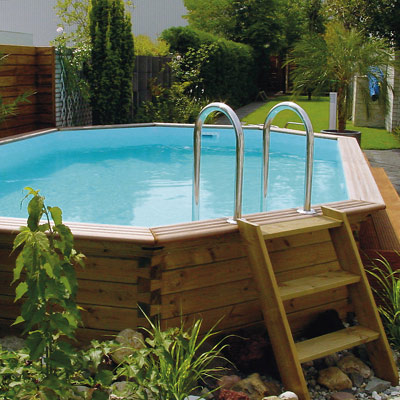 Gardipool wooden pool