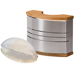 Harvia sauna lamp and shade