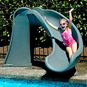 Full range of slides to complement your pool
