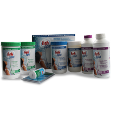HTH spa water treatment pack