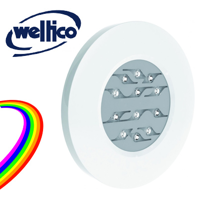 Weltico Rainbow Power Design LED projector without alcove