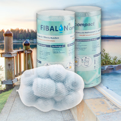 FIBALON® Compact : filters pool and spa water