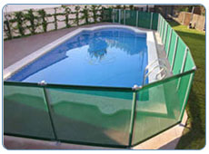 IASO Flash-N pool security barrier