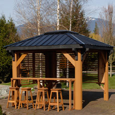 Gazebos - spa shelters