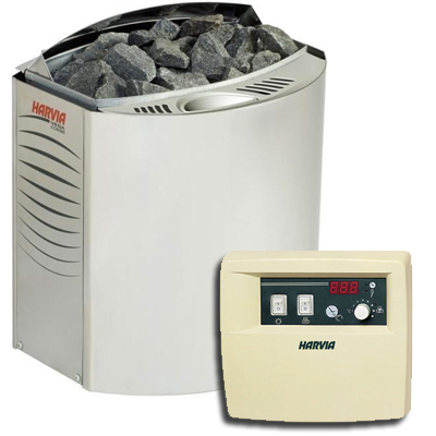 Harvia Vega Combi electric sauna stove