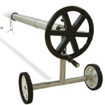 Telescopic reels for thermal covers