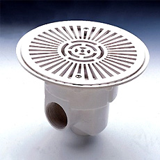 Astral prestige main drain for concrete pools