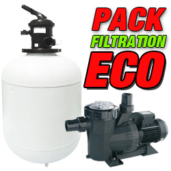 ECO filtration pack for inground pools