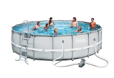 Bestway POWER STEEL round above ground pool