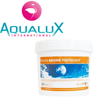 Bromine pool treatment products