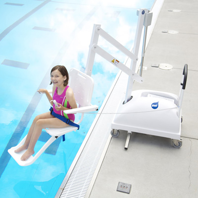 Disabled pool access solutions, pool lifts...