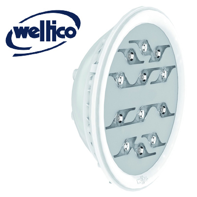 WELTICO Diamond Power Design white LED bulb