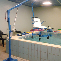 F145 removable chair lift