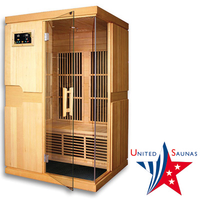 INDIANA 2 place infrared Sauna