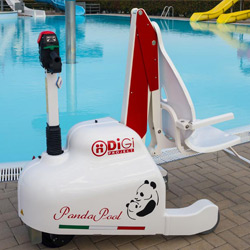 PandaPool mobile seated pool lift