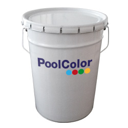 Pool Color paint for ceramic or molten glass finish pools