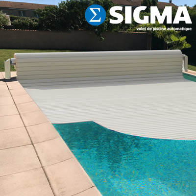 SIGMA above ground pool shutter