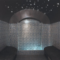 Teddington Starlit ceiling kit, atmospheric lighting for Hammam