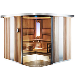 Traditional steam saunas