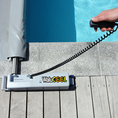 WALU COOL motorised crank barred pool covers