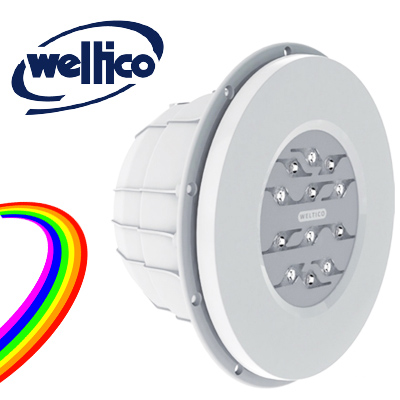 Weltico Rainbow Power Design LED projector