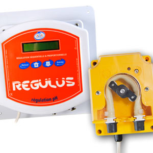 pH Regulus peristaltic dosing pump