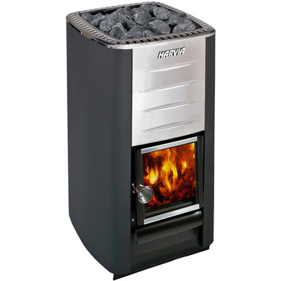 Harvia M3 wood burning stove for sauna