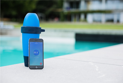BLUE by Riiot, Bluetooth pool water tester