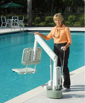 AXS LIFT 1000 pool lift for disabled pool access