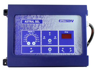 Astral combined electrolyser and pH regulation