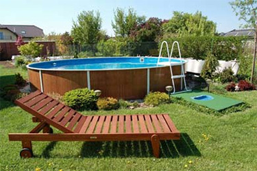 AZURO DE LUXE above ground steel pool