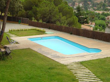 BARAHONA 785 polyester shell pool