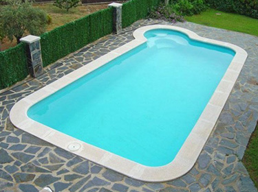 BARAHONA 950 polyester shell pool