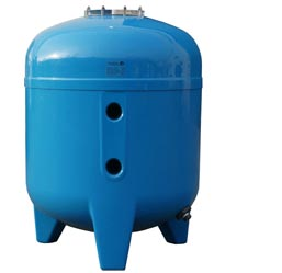Calplas laminated stratified sand filter