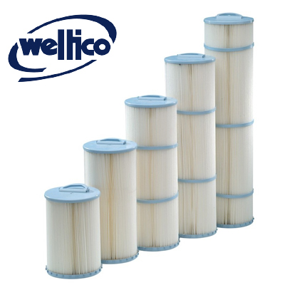 Replacement pool filter cartridges
