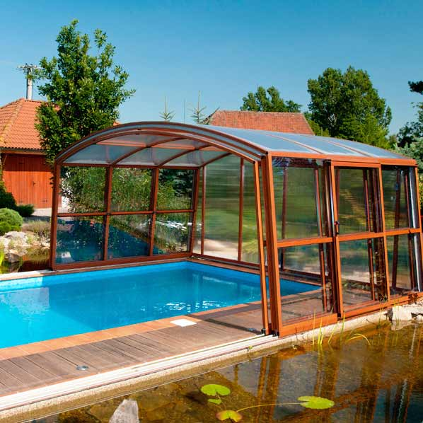 IDEALCOVER CASABLANCA C high pool shelter