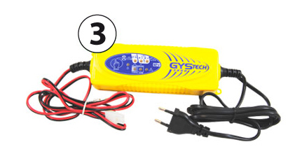 Recharger for motor