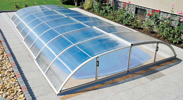 Constellation pool enclosure