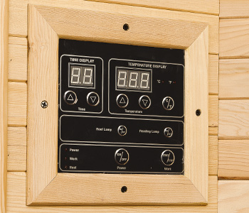 Digital control panel NEVADA 1 place infrared Sauna