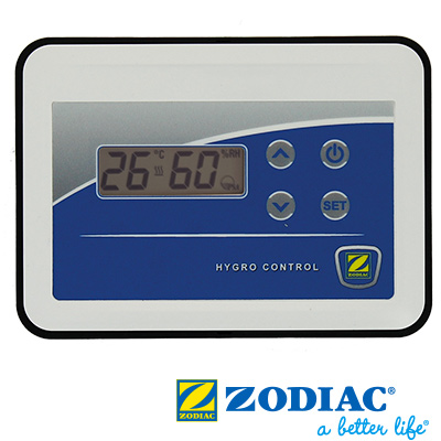 Control panel for Zodiac Sirocco 55 Ambiance dehumidifier