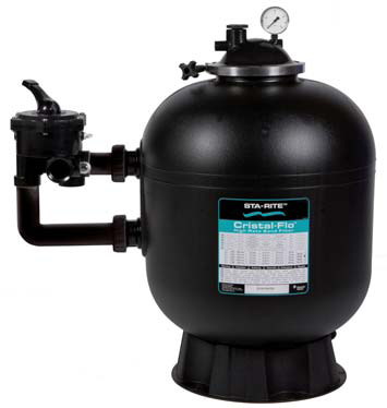 Cristal Flo sand filter full view