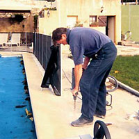 Beethoven pool fencing system installation guide