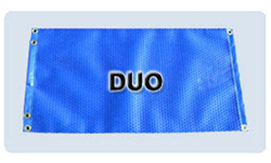 Duo model of bubble cover